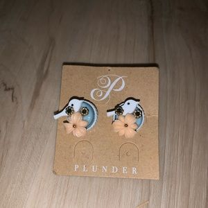 Dove plunder earrings